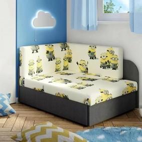 детская кровать идеи декор