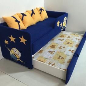 детская кровать идеи декора