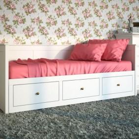 детская кровать интерьер