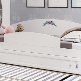 детская кровать интерьер фото