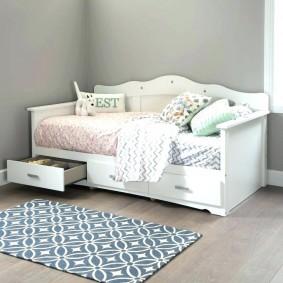 детская кровать фото интерьер