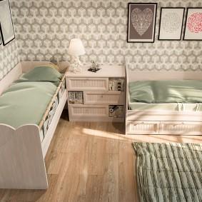 дизайн детской кровати идеи фото