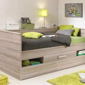 детская кровать интерьер идеи