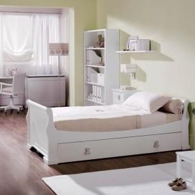 детская кровать идеи интерьер