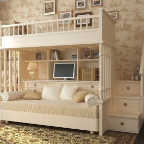 детская кровать фото оформление