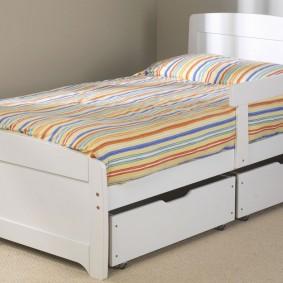 детская кровать оформление идеи