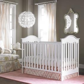 детская кровать виды оформления