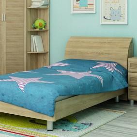 детская кровать виды