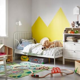 детская кровать виды декора