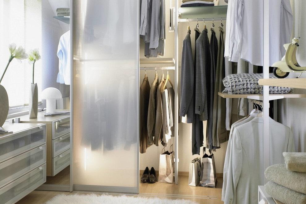 дизайн гардеробной комнаты в квартире