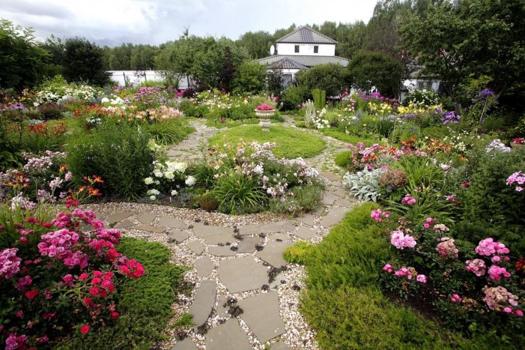 Эскимосский дизайн в ландшафте сада