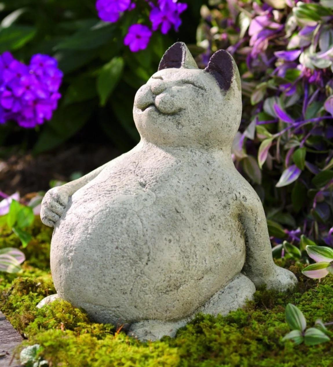 фигурки для сада из бетона фото