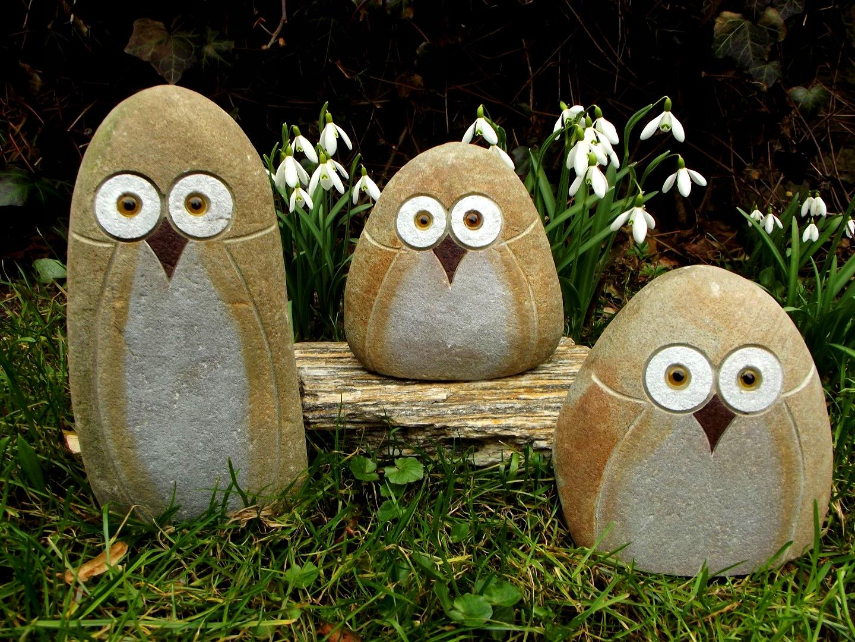 фигурки для сада из камня фото