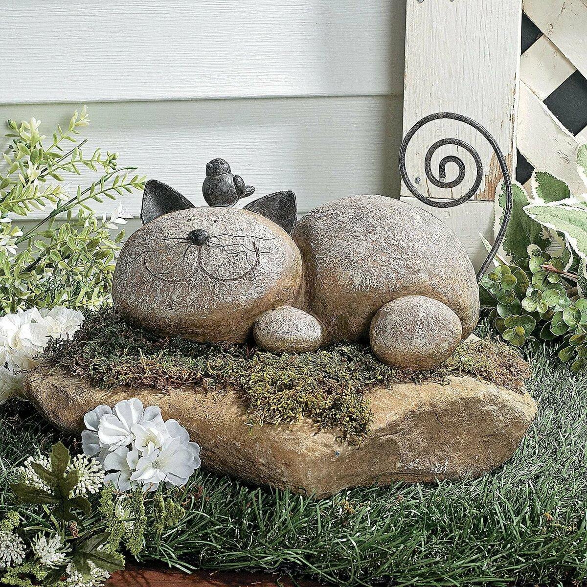 Фигуры из камня для сада