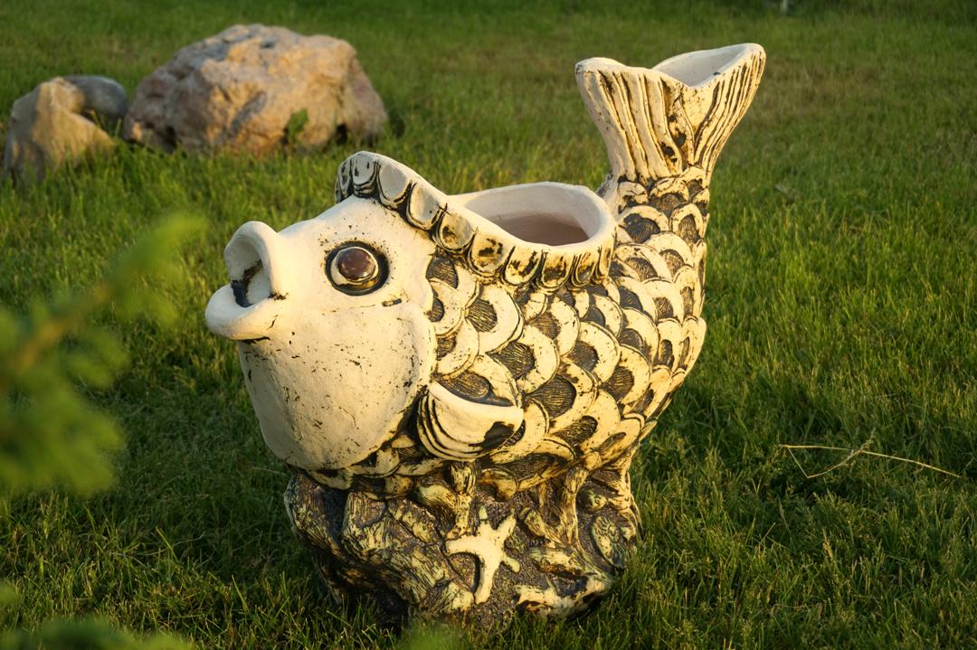 фигурки для сада керамика