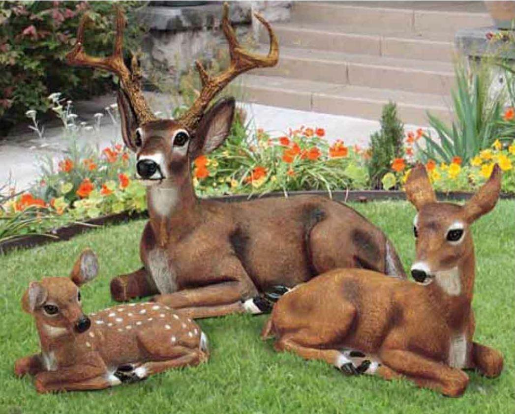 фигурки для сада олени