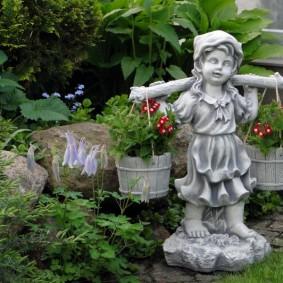 фигуры для сада виды фото