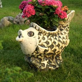 фигуры для сада виды декора