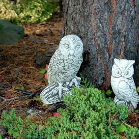 фигуры для сада совы