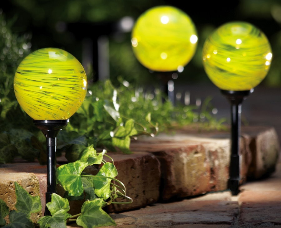 Красивые светильники со стеклянными плафонами