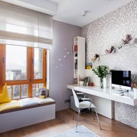 Небольшая детская комната в современном стиле