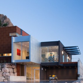 Дизайн жилого дома модульной конструкции