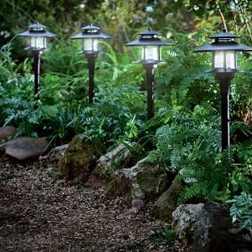 Невысокие светильники с пластиковым корпусом