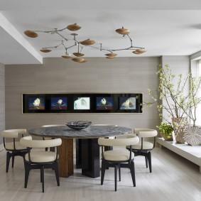 Декор комнаты в экологическом стиле