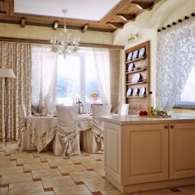 Декорирование комнаты в прованском стиле