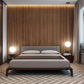 Прикроватные светильники в спальне супругов