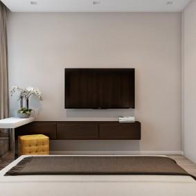 Подвесная мебель в интерьере квартиры