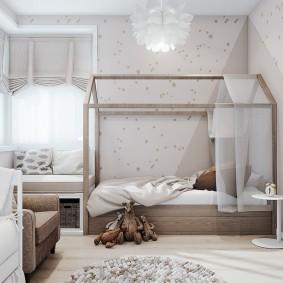 Каркас для балдахина над детской кроваткой