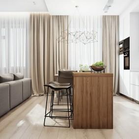 Ламинированное покрытие на полу квартиры
