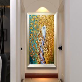 Узкая картина в конце длинного коридора