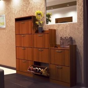 Модульная мебель в прихожую комнату