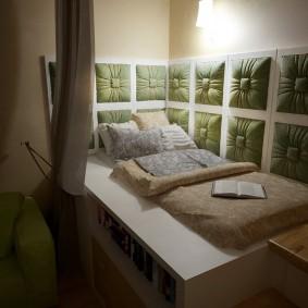Спальное место в комнате для двоих детей