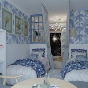 Уютная спальня для двоих мальчиков