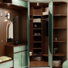Шкаф-гардероб в прихожей квартиры