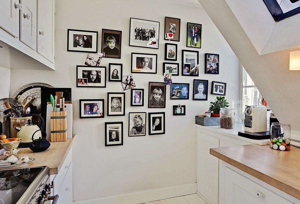 Коллекция фотографий в интерьере кухни