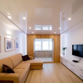 Оформление комнаты в стиле современного минимализма