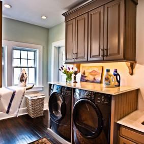 Обустройство комнаты для стирки в доме
