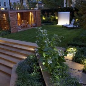 Функциональная подсветка садового участка