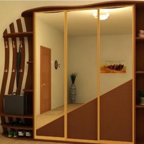 Каркасный шкаф из недорого материала