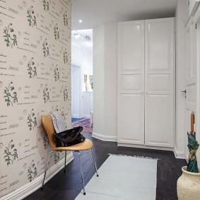 Двустворчатый шкаф с рамочными фасадами