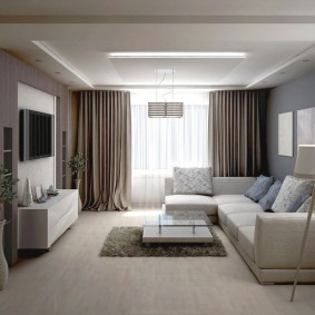 Минимализм в интерьере гостевой комнаты