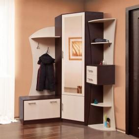 Комплект мебели для прихожей небольшой площади