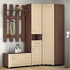 Модульная мебель с дверцами из МДФ