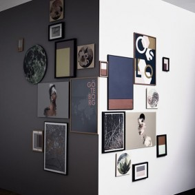 Угол комнаты с любимыми снимками