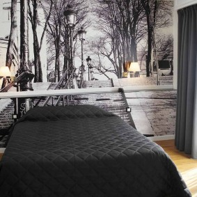 фотообои для спальни виды декора