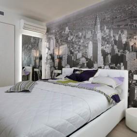 фотообои для спальни идеи декор